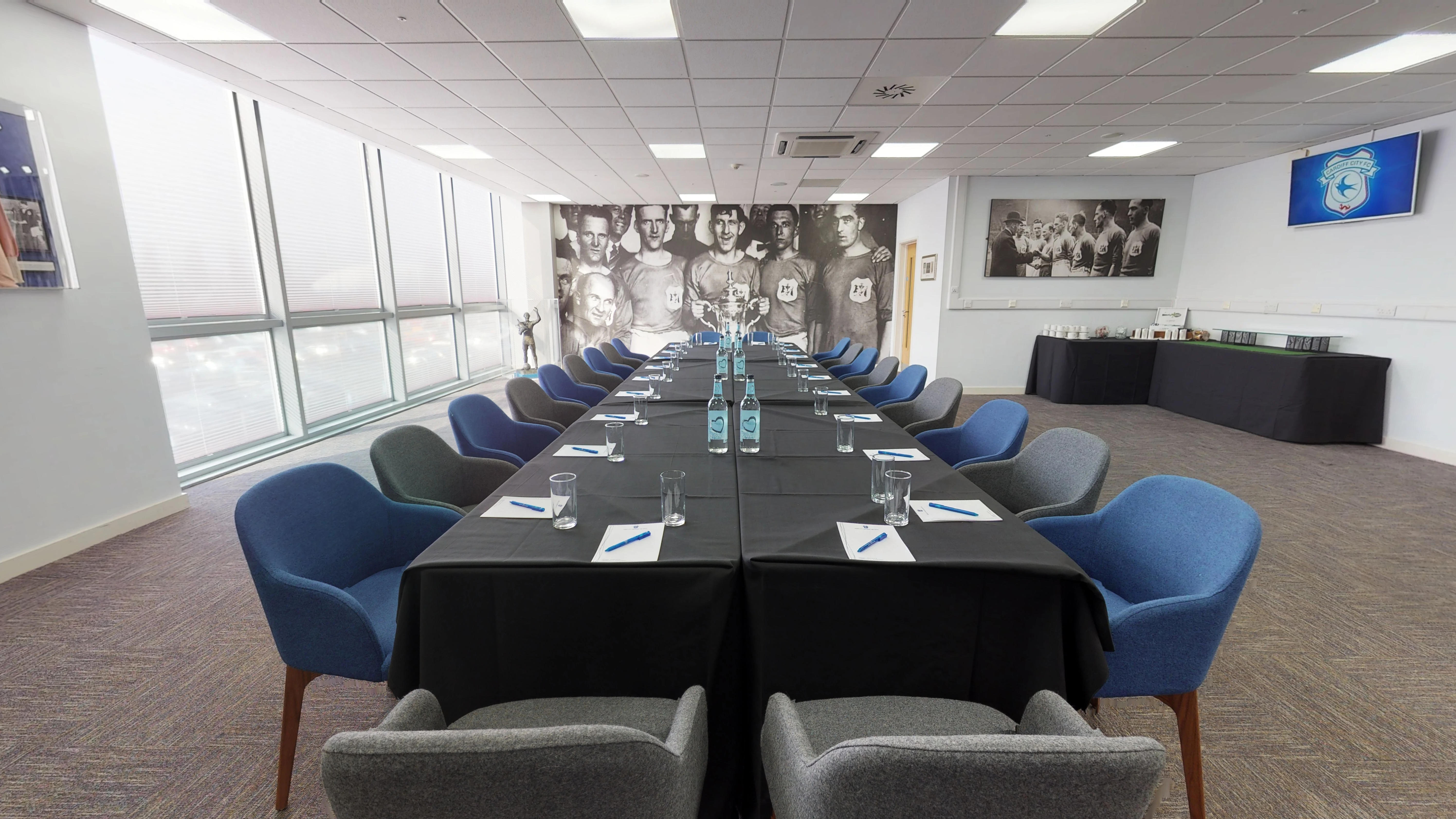 Cardiff City Meetings Events Fred Keenor Suite Boardroom